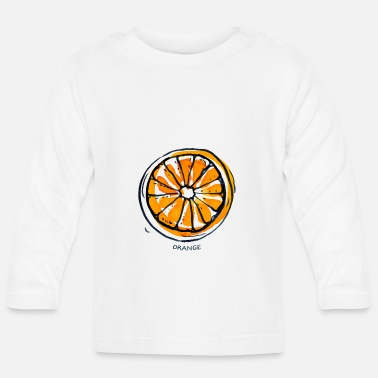 Fruit Orange Fruit Fruit Fruit - Baby Longsleeve Shirt