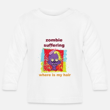 Undead Zombie Undead - Långärmad baby T-shirt