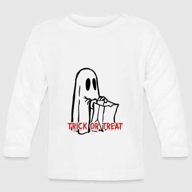 Trick or treat Halloween - Baby Langarmshirt