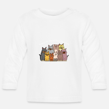 Every life beautiful cats love gift kittens - Baby Longsleeve Shirt