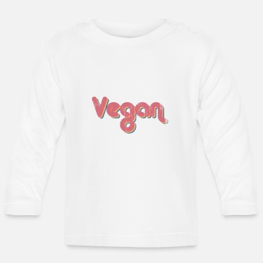 Health Vegan Power Health - Langarmet baby T-skjorte