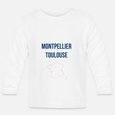 Montpellier Montpellier Toulouse - Baby Langarmshirt