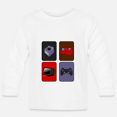 Console Console Player - Baby Long Sleeve T-Shirt