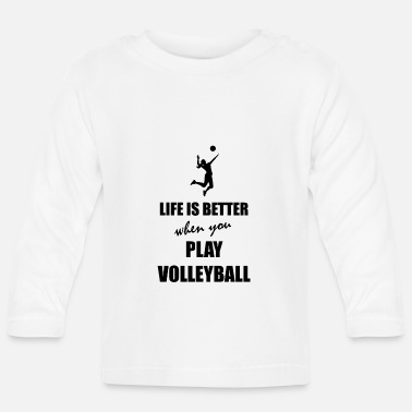 Beachvolleyball Beachvolleyball - Baby Langarmshirt