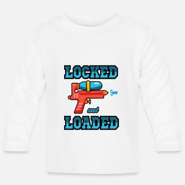 Swim Loaded and unlocked - Baby Longsleeve Shirt
