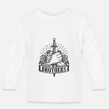 Brother Brothers brothers cohesion brother siblings - Baby Longsleeve Shirt