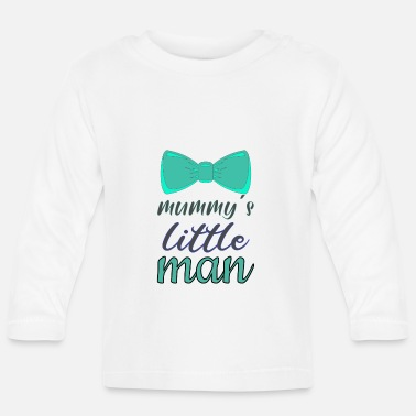 Mommys little man - Baby Longsleeve Shirt