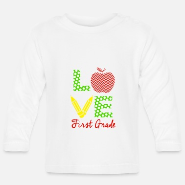 Professions Love First Grade - Baby Longsleeve Shirt