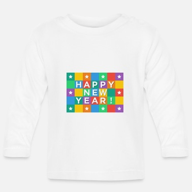 New Year's Day New Years Eve, New Year, New Year's Day, gift - Baby Longsleeve Shirt