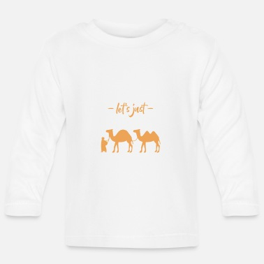 Middle East Lets Just Disappear In The Middle East - Baby Longsleeve Shirt