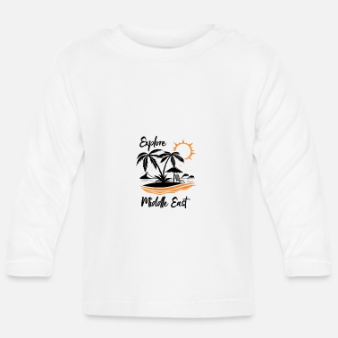 Middle East Explore Middle East - Baby Longsleeve Shirt