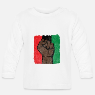 Afro Black Power First-Black History-Black Lives Matter - Baby longsleeve