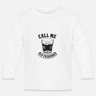 Whiskey Old Fashioned Whiskey Drink Whisky Rocks Fan - Baby Longsleeve Shirt