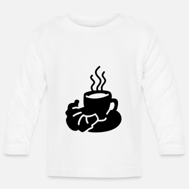 Wake Up Coffee Cup - Baby Longsleeve Shirt