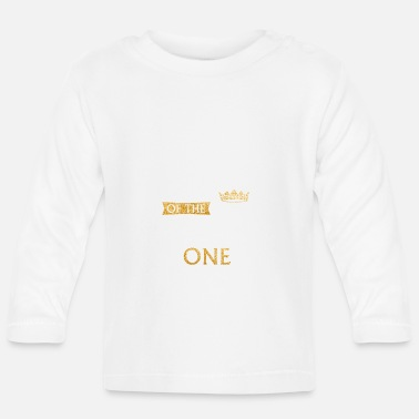 Wild Dad of the Wild One 1e verjaardag Eerste verjaardag Th - Baby longsleeve