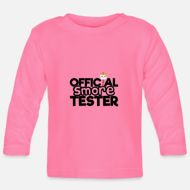 Official S'more Tester - Baby Longsleeve Shirt