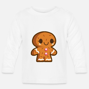 Gingerbread Man Gingerbread man - Baby Longsleeve Shirt