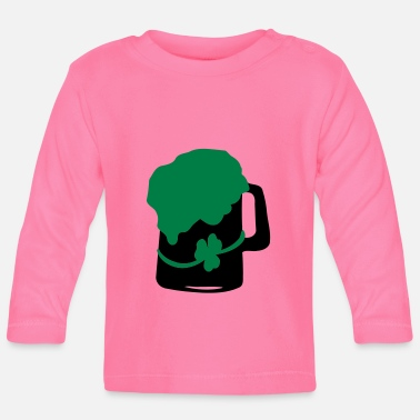 Green Beer shamrock green beer - Baby Longsleeve Shirt