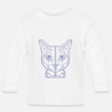 Poesje Cats Pattern Kitten Graphic Abstract Sweet - Baby longsleeve