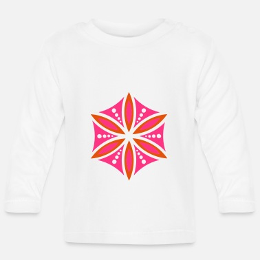 Aphrodite Flower of Aphrodite, 2c, Symbol of love, beauty - Baby Longsleeve Shirt