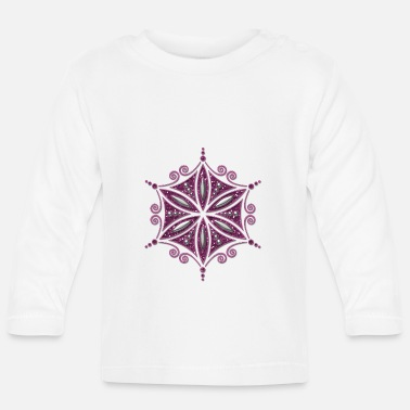 Aphrodite Flower of Aphrodite, glitter, Symbol of love, - Baby Longsleeve Shirt