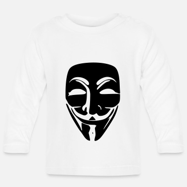 We Do Not Forgive Anonymous - Baby Longsleeve Shirt