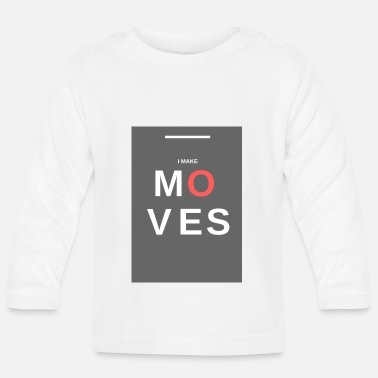 Movimiento MOVIMIENTOS - Camiseta de manga larga bebé