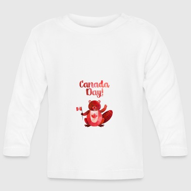 Day Canada Day / Canada Day - Langarmet baby-T-skjorte
