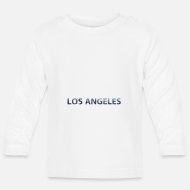 Ángel Los angeles - Camiseta manga larga bebé
