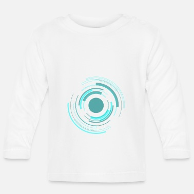 Tech Tech Circle - Baby Longsleeve Shirt