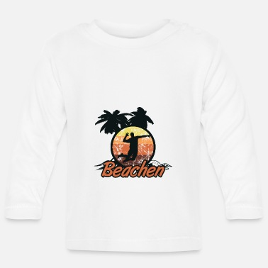 Beachvolley beachvolley - Langærmet babyshirt