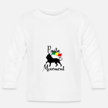 Movement REGGAE Rasta Movement - Långärmad baby T-shirt