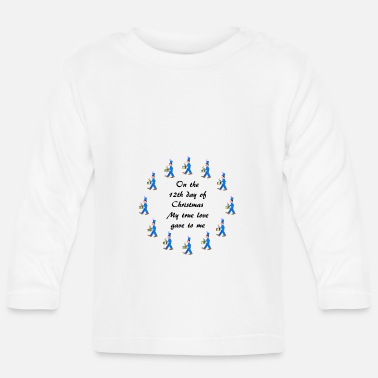 12th Day of Christmas drummers - Baby Longsleeve Shirt