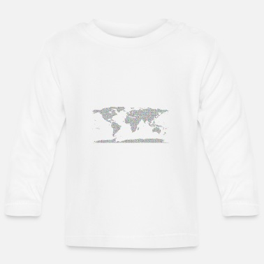 Map map of the world - Baby Longsleeve Shirt