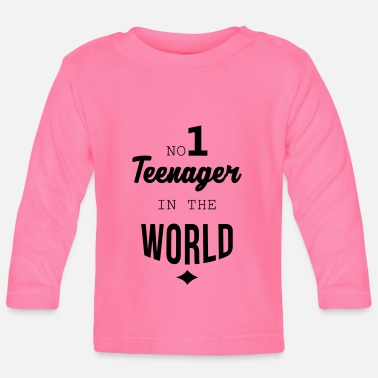 Teenager tiener / teen / teenager / kind - Baby longsleeve