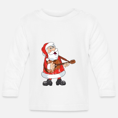 Advent Retro vintage Kerstmis van de grungekerstman - T-shirt