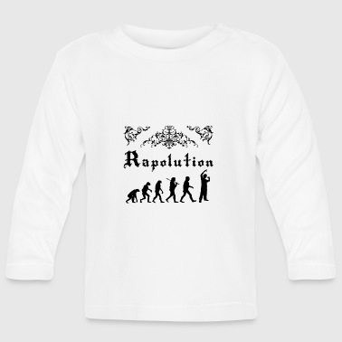 Rap Evolution - Baby Long Sleeve T-Shirt