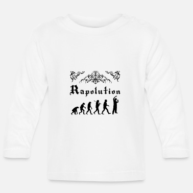 Rap Rap Evolution - Camiseta manga larga bebé