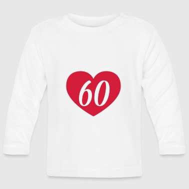 60th birthday heart Shirts - Baby Long Sleeve T-Shirt