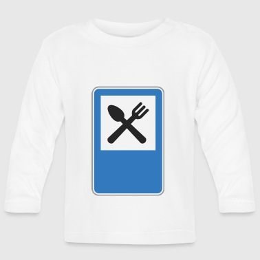 Road sign restaurant - Baby Long Sleeve T-Shirt