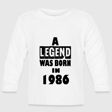 1986 1986 - Baby Long Sleeve T-Shirt