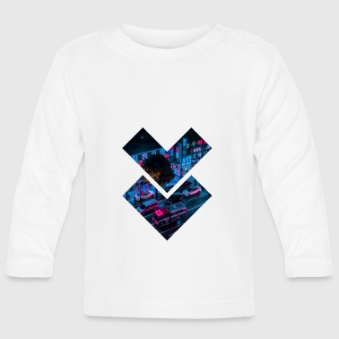 Cyberpunk neons - Baby Long Sleeve T-Shirt
