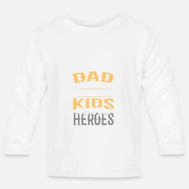 Father dad gift daughter son child - Baby Longsleeve Shirt