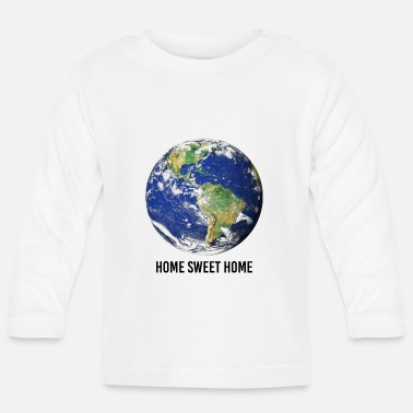 Graphic Art Home Sweet Home Graphic - Långärmad baby T-shirt