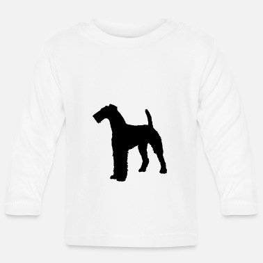 Terrier Airedale Terrier dog - Baby Long Sleeve T-Shirt