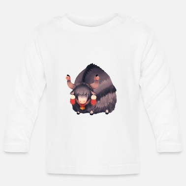 Illustration Illustration de yak - T-shirt manches longues Bébé