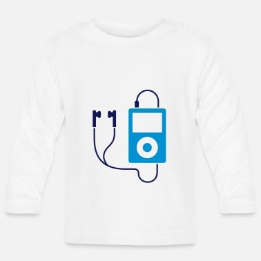 Mp3 iPod / MP3 player - Baby Longsleeve Shirt