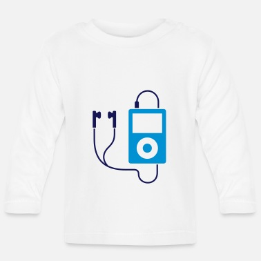 Mp3 iPod / MP3-Player - Baby Langarmshirt