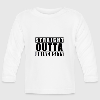 Outta uni - Baby Long Sleeve T-Shirt