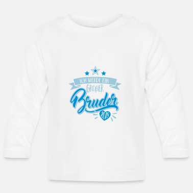 Graviditet Big brother 2018-graviditet-baby gåva - Långärmad T-shirt baby
